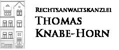 Rechtsanwaltskanzlei Thomas Knabe-Horn Logo
